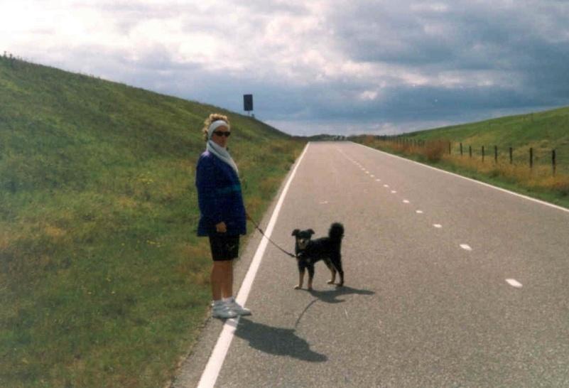 09/97 - Dünenwanderung bei Burg Haamstede (NL)
