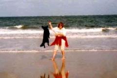 09/97 - Agility am Strand (NL)