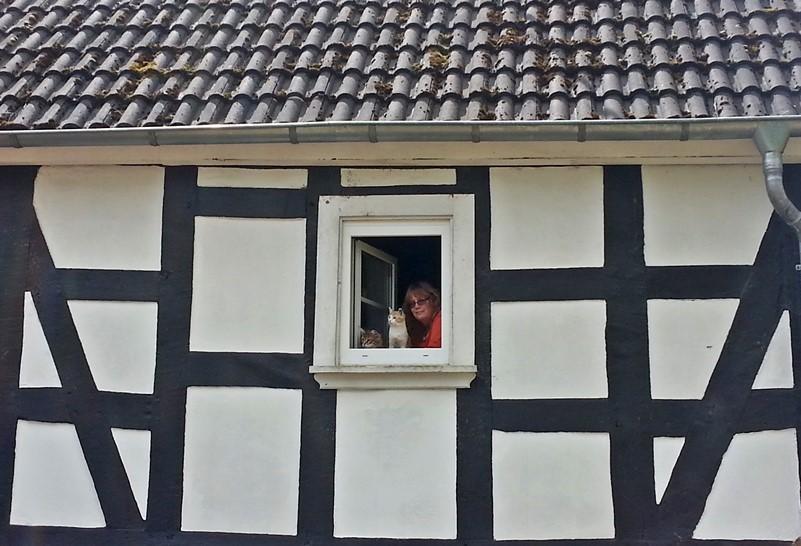 2015-04-29_Lillifee_und_Gizmo_mit_Frauchen_am_Ausguck